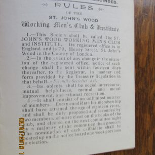 Rules of the Club