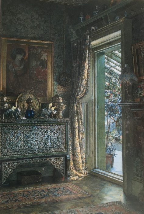 Drawing room 1a Holland Park Anna Alma Tadema