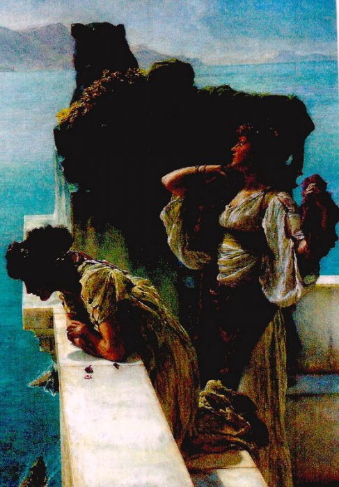 Coign of Vantage  Laurence Alma Tadema