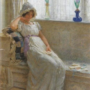 Spring Love by William Henry  Margetson
