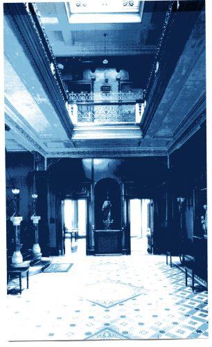 Interior of Loudoun Hall