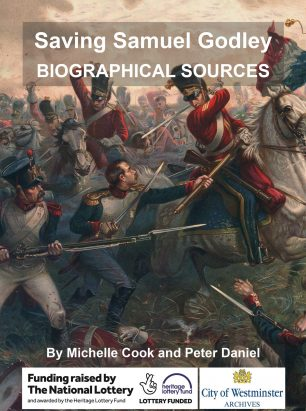 Front cover: Saving Samuel Godley: Biographical Sources