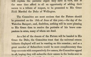 Unearthing Treasures: The Waterloo Banquet, Apsley House