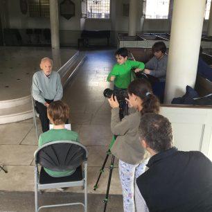 Barrow Hill School interview Harvey Gould at St Johns Wood Church