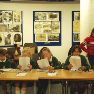 Learning Godley's story at the Westminster Archives Centre