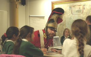 Schools visit the Westminster Archives and the Household Cavalry Museum