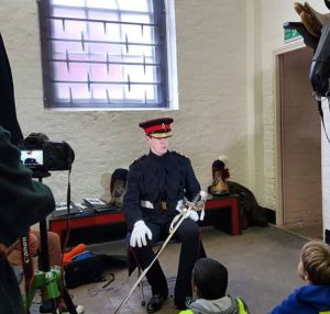 Serving officer at the Household Cavalry Museum | Household Cavalry Museum