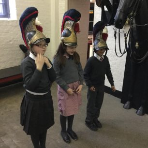 School visit to the Household Cavalry Museum