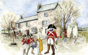 Portraits of Samuel Godley's life: Original illustrations by Kate Morton