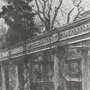 Tissot's sketch of the colonnade