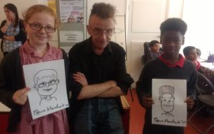 Schools visit the Cartoon Museum