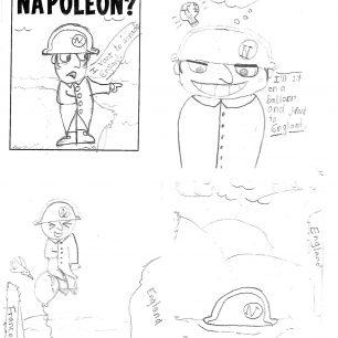 Cartoon Museum Samuel Godley Napoleon Comic