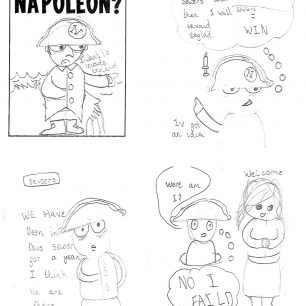 Cartoon Museum Samuel Godley Napoleon Comic