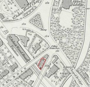1871 OS map