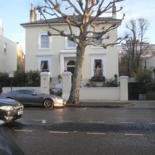 78 Hamilton Terrace, home of Sir Frederick and Lady Hoare in the 1960s