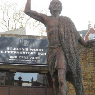 St John the Baptist          sculptor  Hans Feibusch