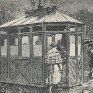 Cabmens' shelter