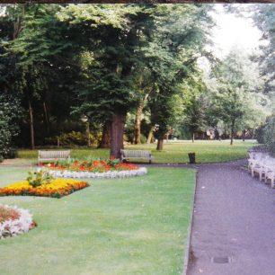 St John's Wood Church gardens  1980s