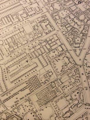 Garden Road 1868
