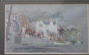 Hugh Johnson - Memories of Burghley House, Loudoun Road in the 1940s