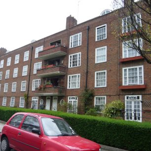 St Marylebone Housing Association (now Octavia Housing) flats in Cochrane Street