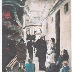 Oslo Court air raid shelter by Olga Lehmann