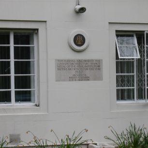 Robert Atkinson plaque