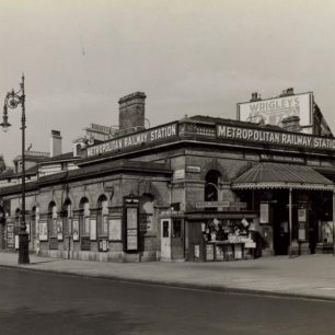 Marlborough Road station (c) Tfl from the London Transport Museum Collection