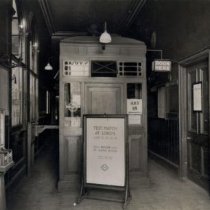 Marlborough Rd interior (c) Tfl from the London Transport Museum Collection