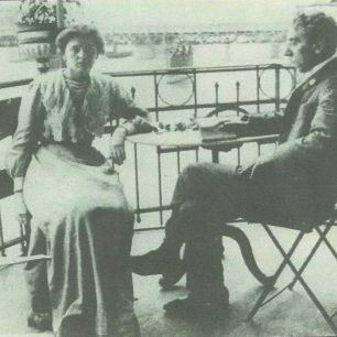 Edith and Israel Zangwill
