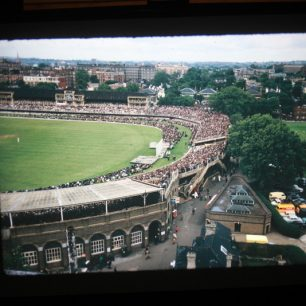 First colour view of Lords from the Lord's View flats