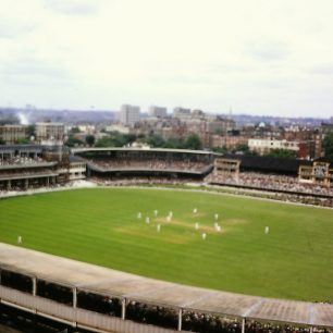 First colour view from Lords View flats