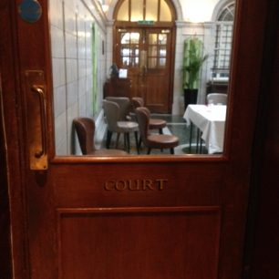 Courthouse Hotel Gt Marlborough Street - the Court room from original Gt Marlborough St police station and Court House