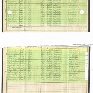 1911 census showing policemen lodging in the St John's Wood police station