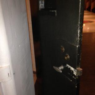 Cell door in hotel 2019