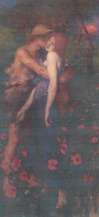 The Idyll  Maurice Greiffenhagen  Liverpool Museum