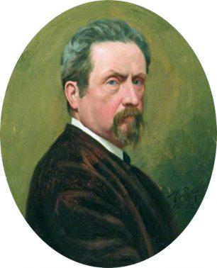 Henry Stacy Marks  Self portrait