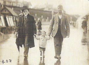 Mr Breen with Neville and George 1928