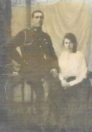 George Peerless and Alice  Maud  Palmer 1921