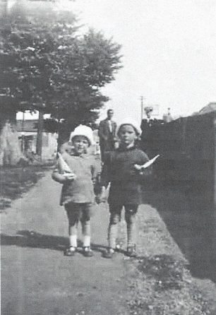 The twins at Brighton 1931