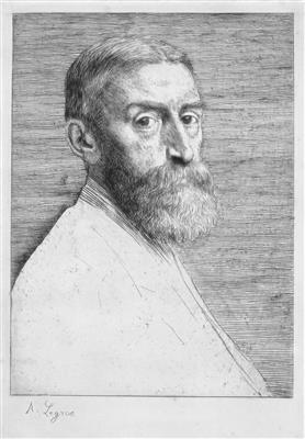 Edward J Poynter by Alphonse Legros