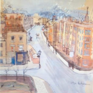 Charlbert Street circa 1940  by Olga Lehmann