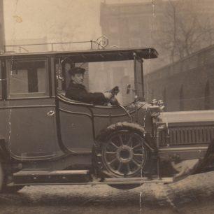 Harold  as chauffeur