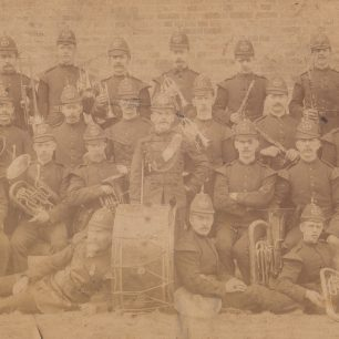 Edward Morgan's  brass band