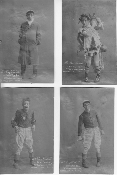 Percy Cahill as Peter Doodey in 'The Arcadians' – 1910 – aged 40