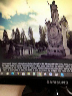 Emma Soyer nee Jones tomb in Kensal Green cemetery