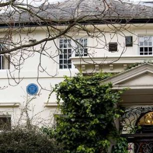 Thomas Huxley  house and plaque