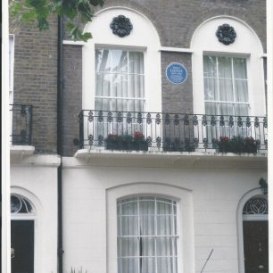Emily Davies house and plaque