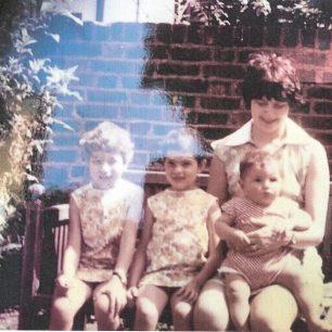 Katharine and the three children