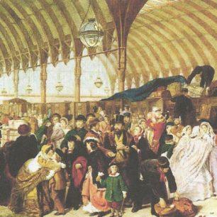 Paddington Station by William Frith